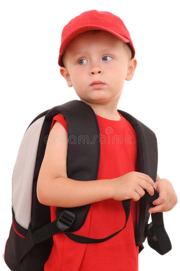 Ready to school stock image