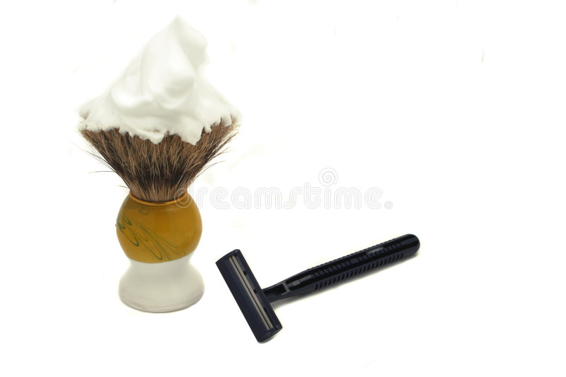 Download Ready to shave stock photo. Image of facials, masculine - 516530