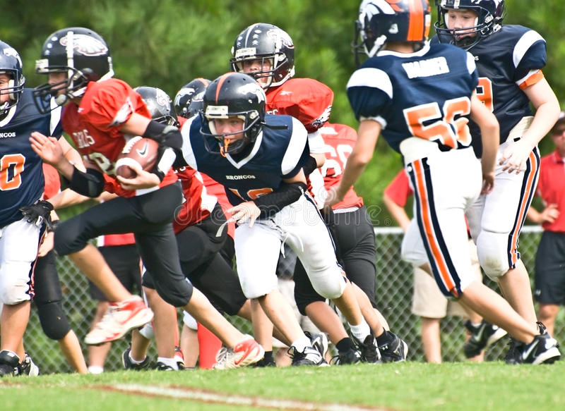 Download Ready To Tackle Little League Football Editorial Stock Photo - Image: 10901303