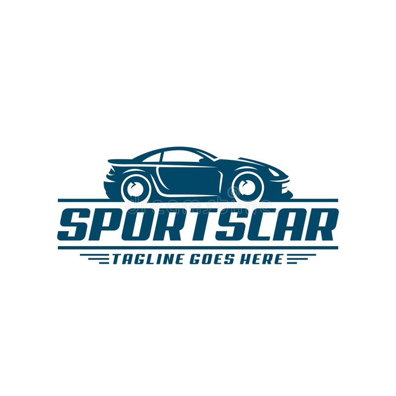 Sports Car Logo template or icon vector illustration