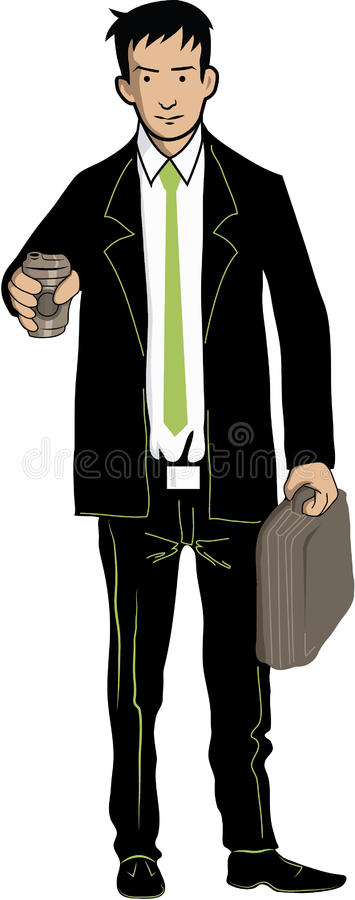 Download Ready to work stock vector. Illustration of meet, businessman - 21424463
