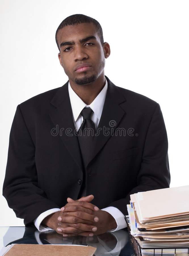Ready for work stock photo