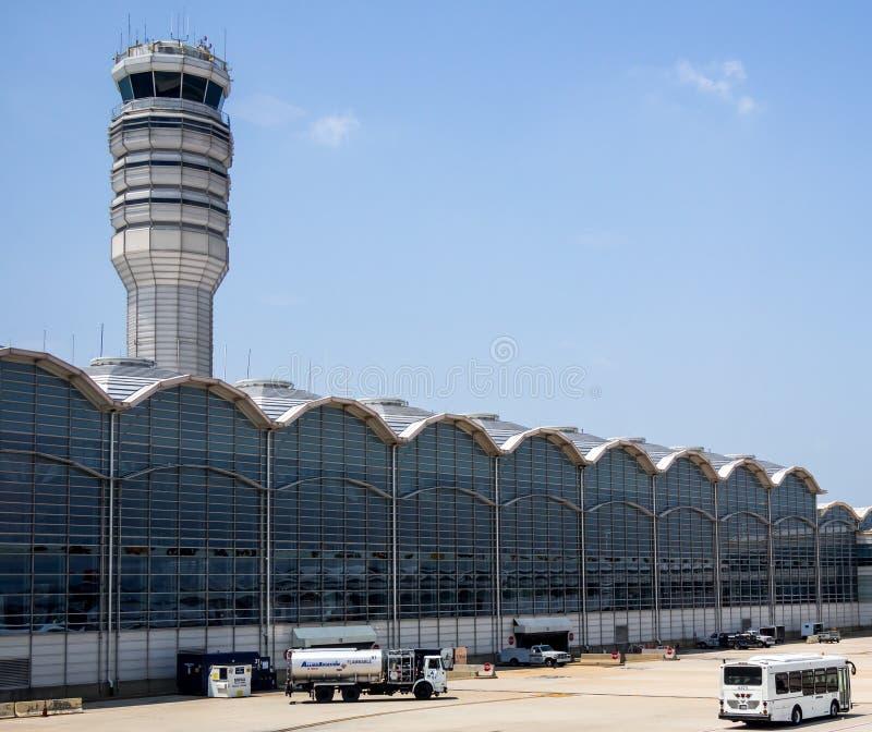 Reagan National Airport. In Washington, DC royalty free stock photo