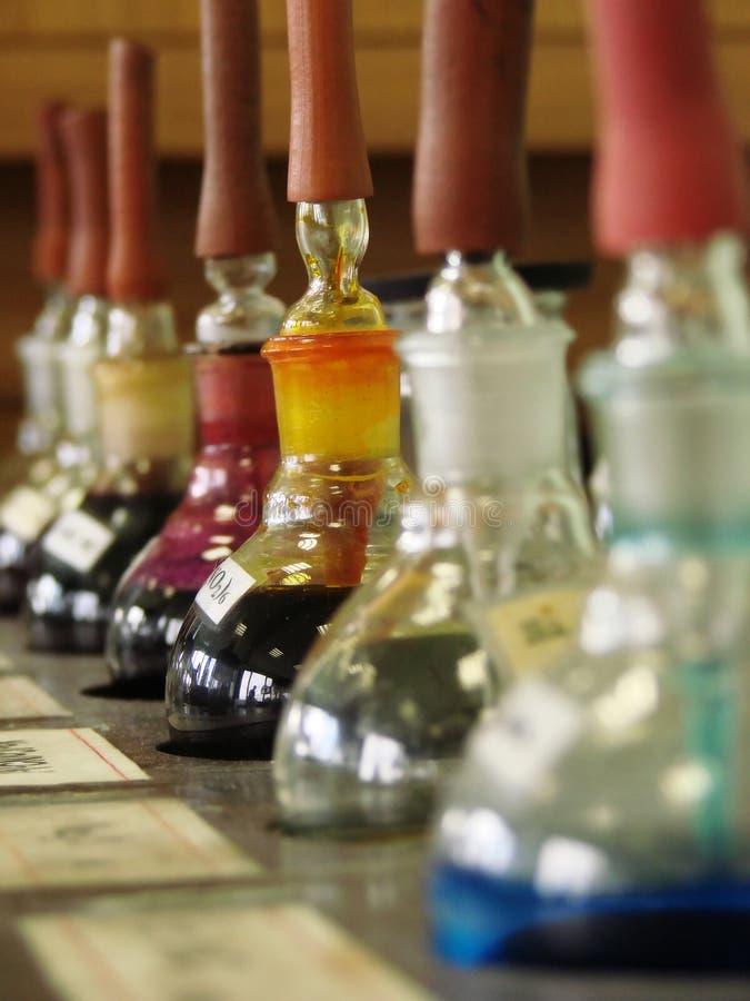 Reagentes imagens de stock