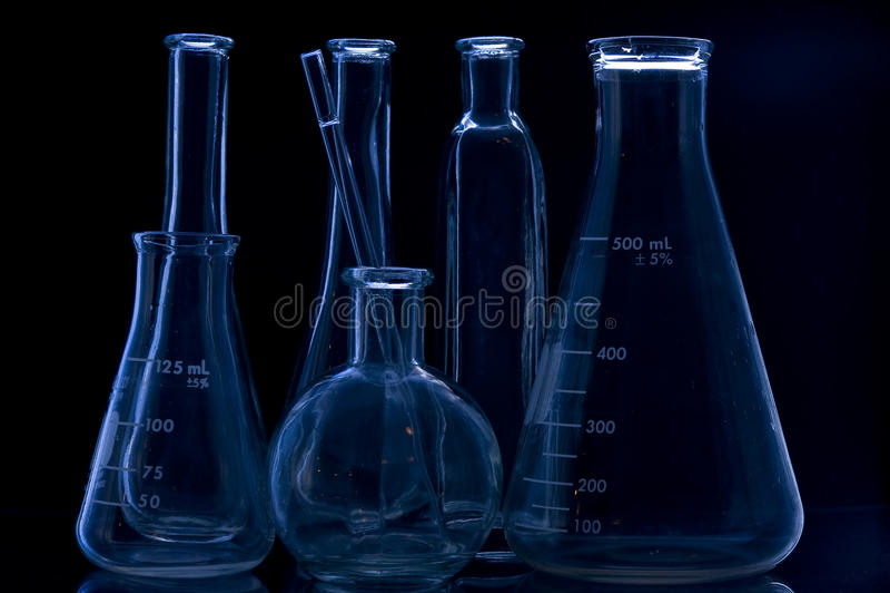 Reagenzglas stockfoto
