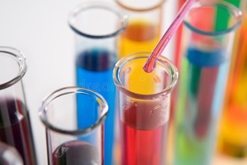 Reagenzglas stockbild