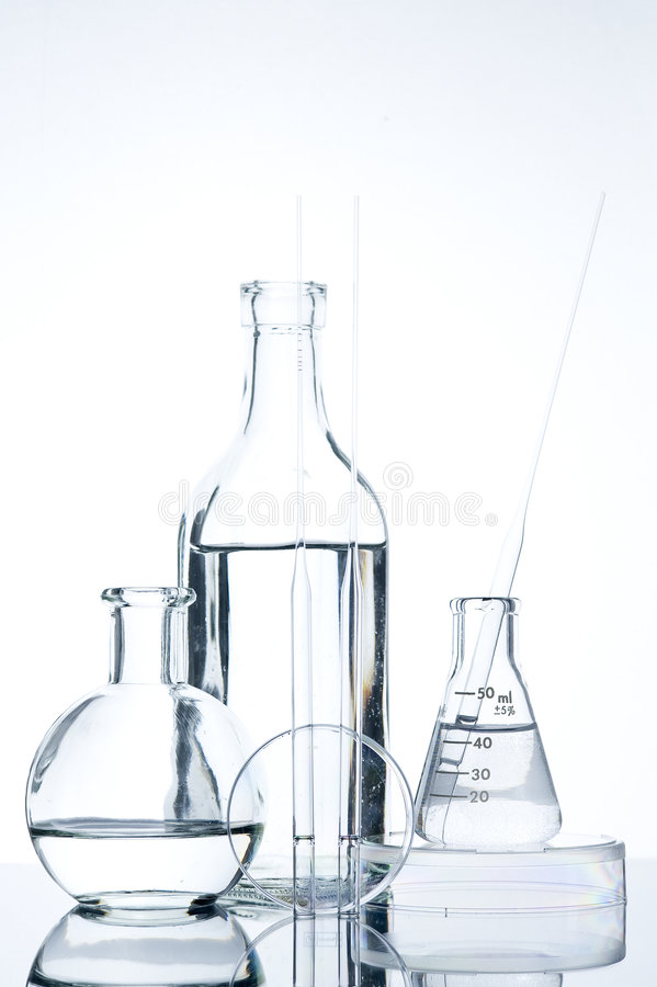 Reagenzglas stockfotografie
