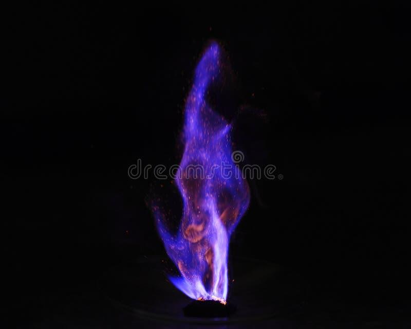 Reaktion för spontan förbränning fotografering för bildbyråer