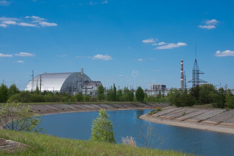 Reaktor jądrowy liczba 4 w Chernobyl obraz stock