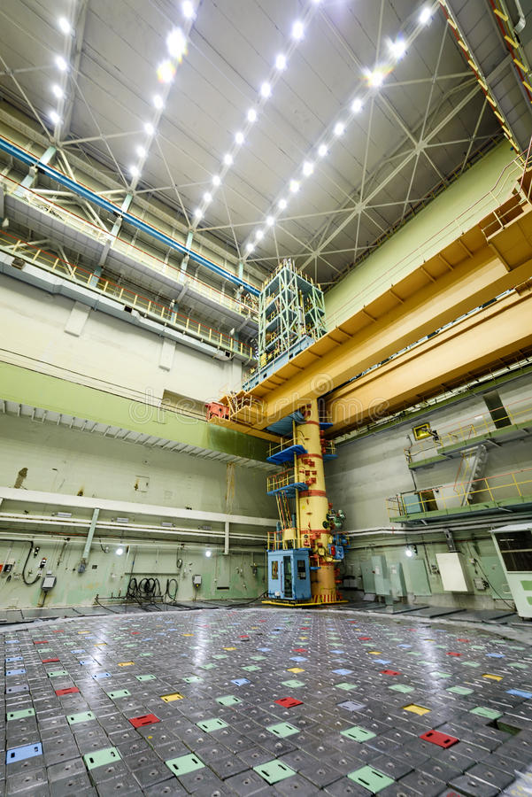 Reaktorraum RBMK lizenzfreie stockfotografie