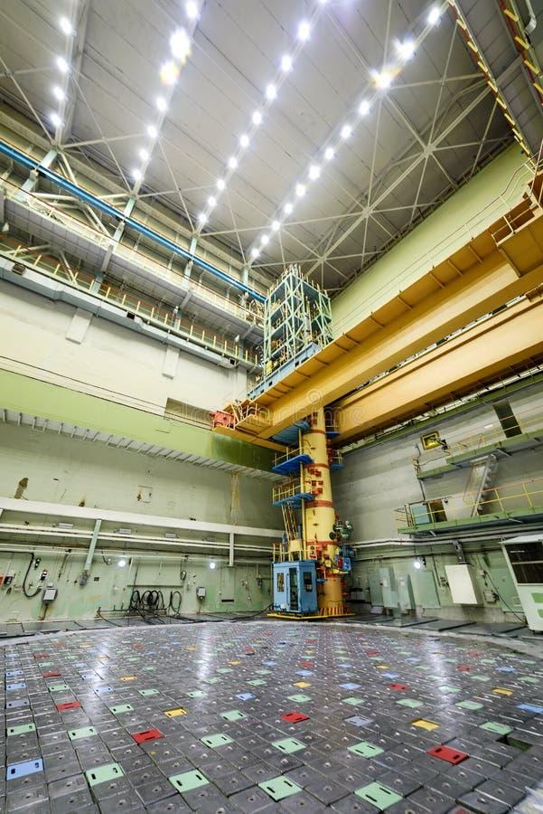 Reaktorrum RBMK royaltyfri fotografi