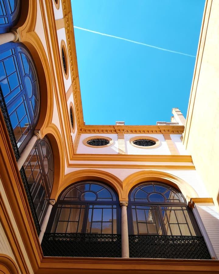 Real Alcazar de Sevilla stock images