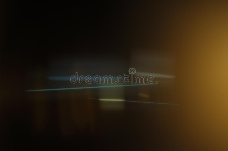 Real Anamorphic Lens Flare royalty free stock photography