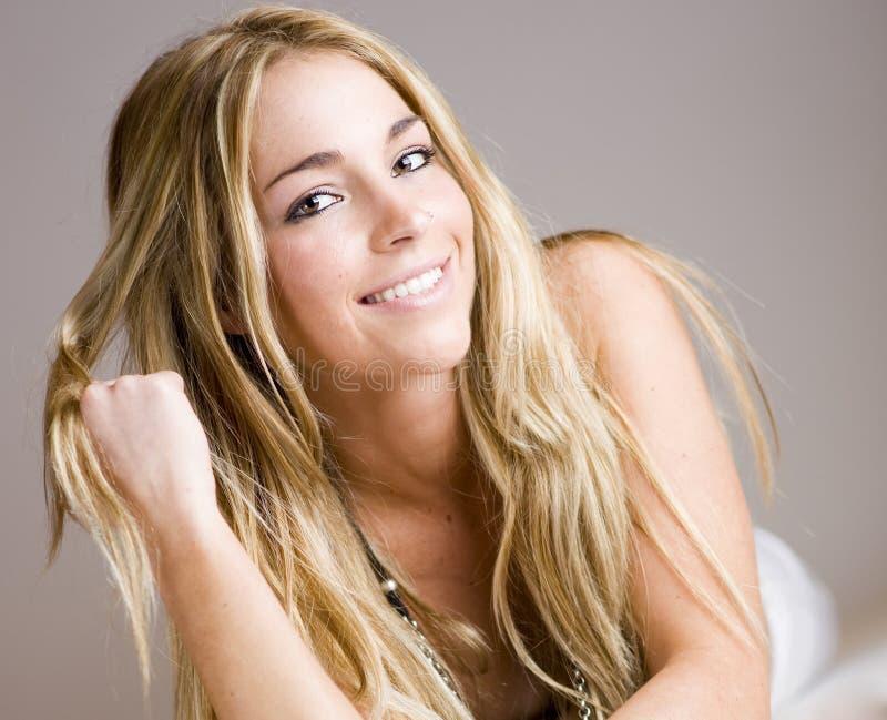 Download Real beatuiful girl smile stock image. Image of sweet - 14339881