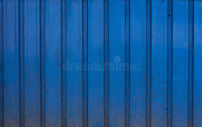 Real Blue, Metal, Dirty and Damaged Background royalty free stock image