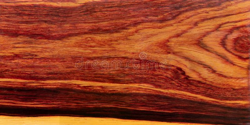 Real Burmese rosewood Exotic wood stock photos