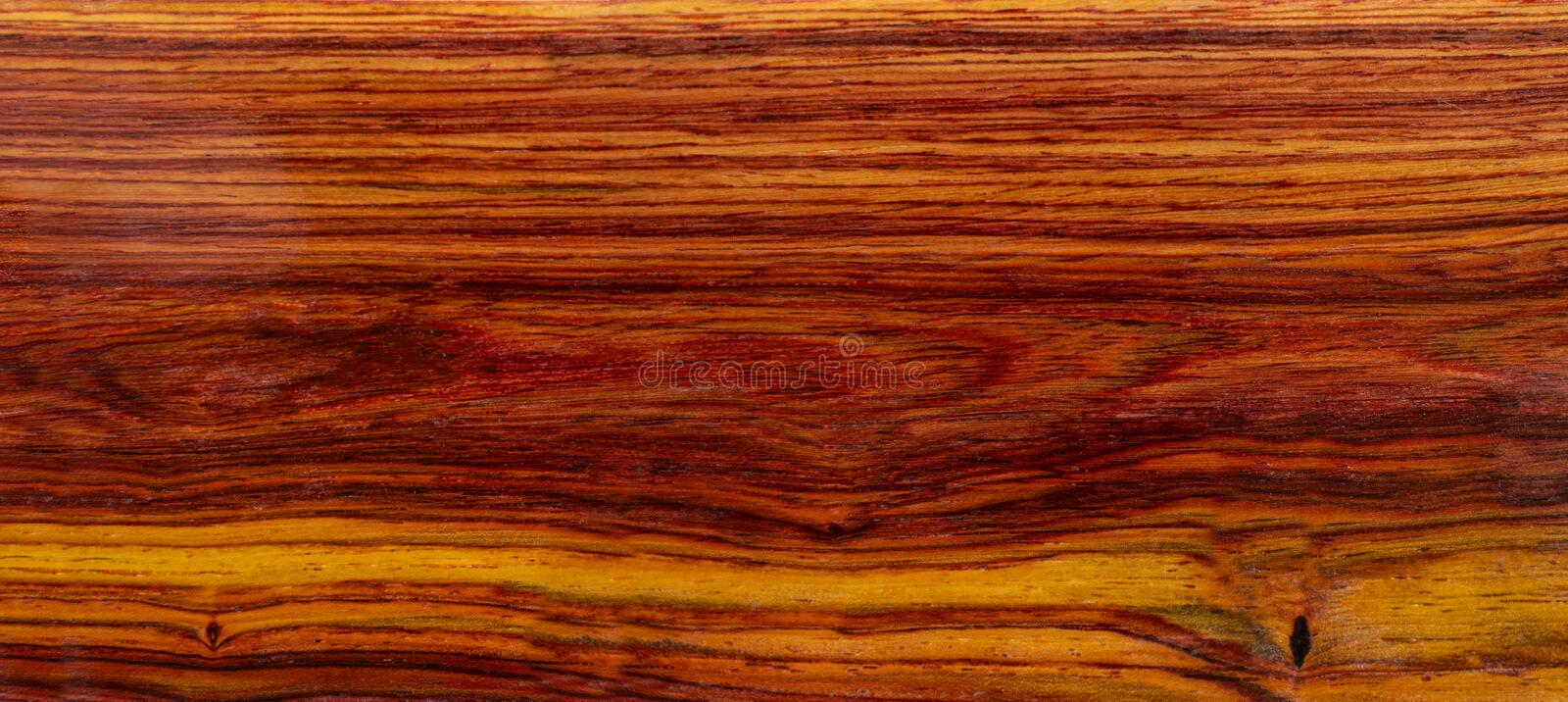 Real Burmese rosewood Exotic wood stock images