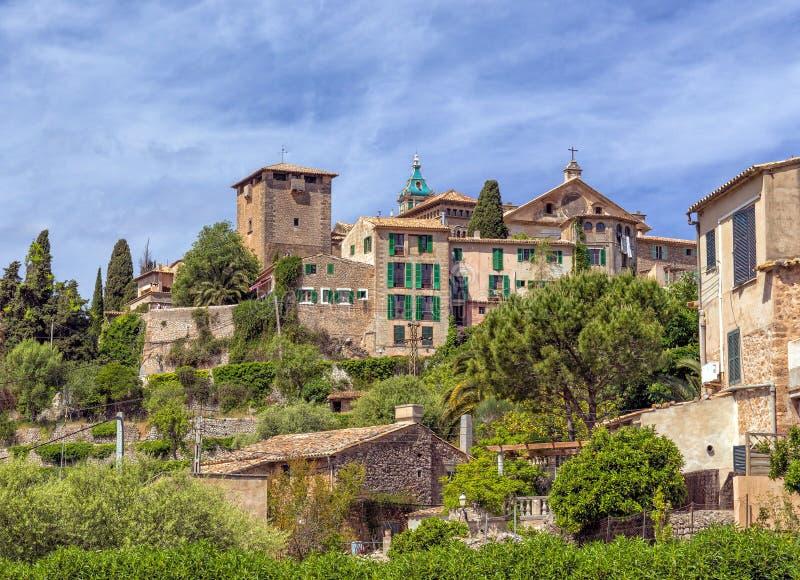 Real Cartuja de Valldemossa, Mallorca foto de archivo libre de regalías