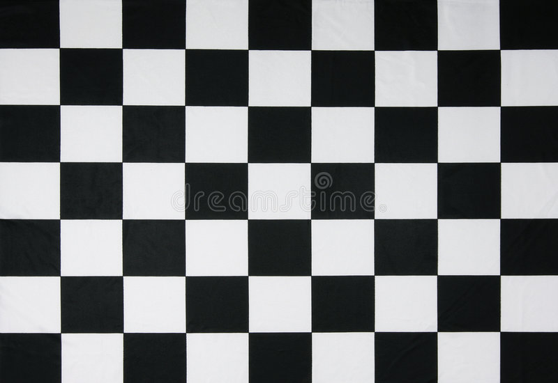 Real checkered flag
