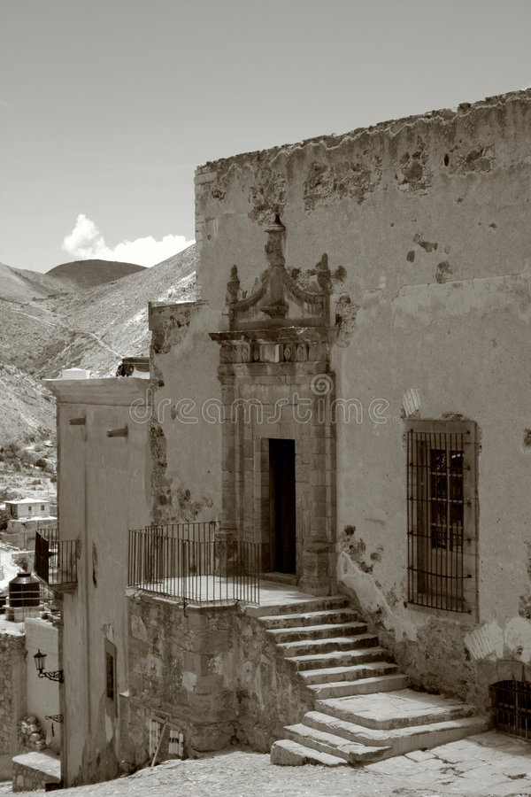Real De Catorce Stock Photography