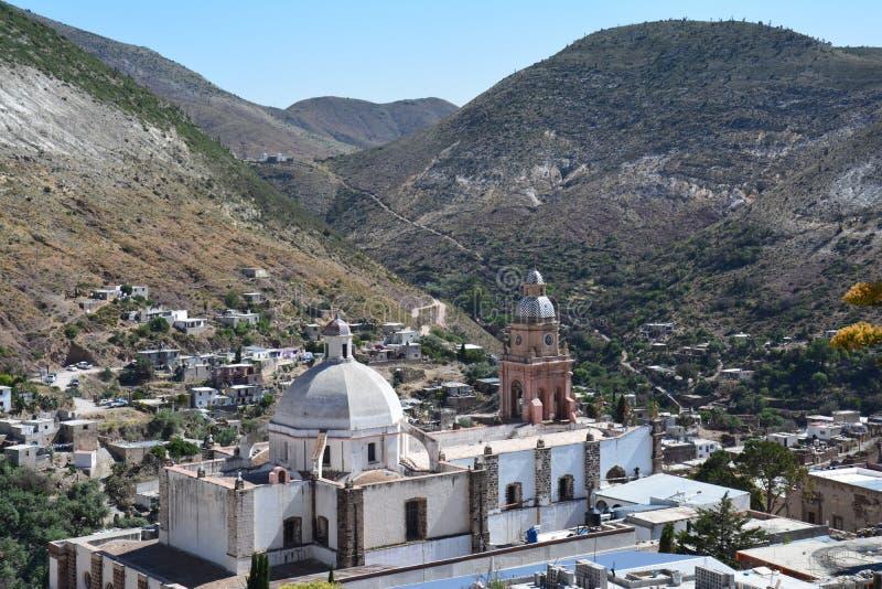 Real de Catorce Pueblo Magico nahe San Luis Potosi Mexiko lizenzfreie stockfotografie