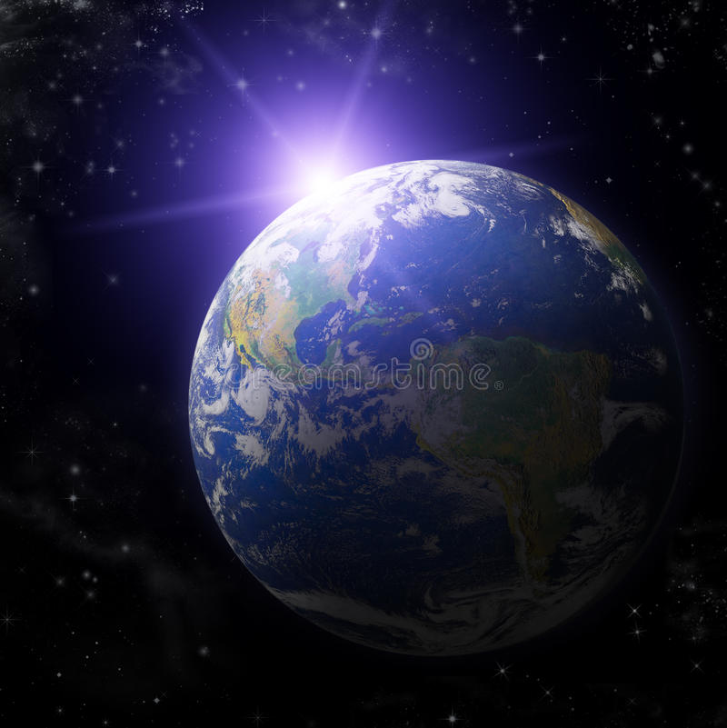 Real Earth Planet Stock Photos - Image: 15341613