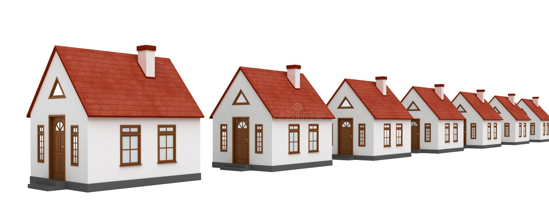 Real Estate vektor illustrationer