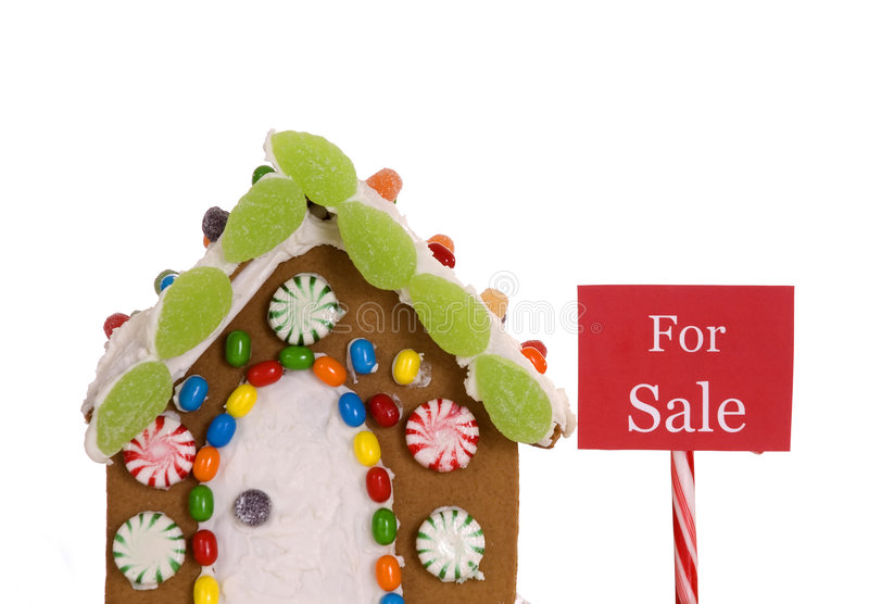 Download Real Estate stock image. Image of christmas, white, sale - 4311449