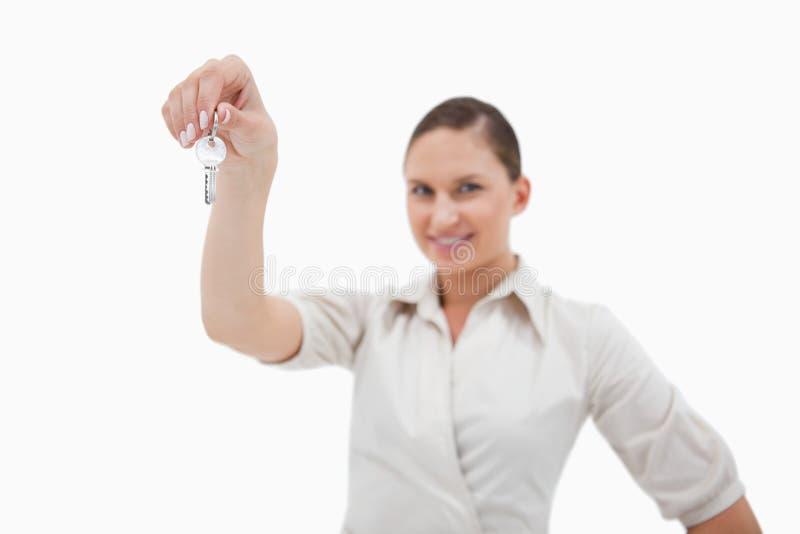 Download Real Estate Agent Holding Keys Stock Image - Image: 22662203