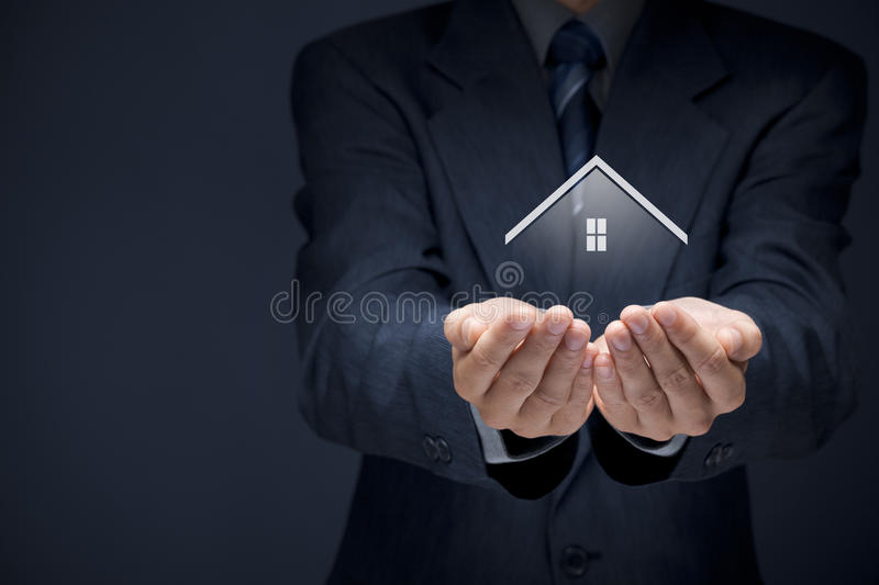 Real estate agent royalty free stock images