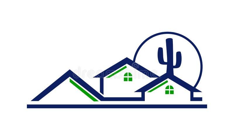 Real Estate Arizona ilustración del vector
