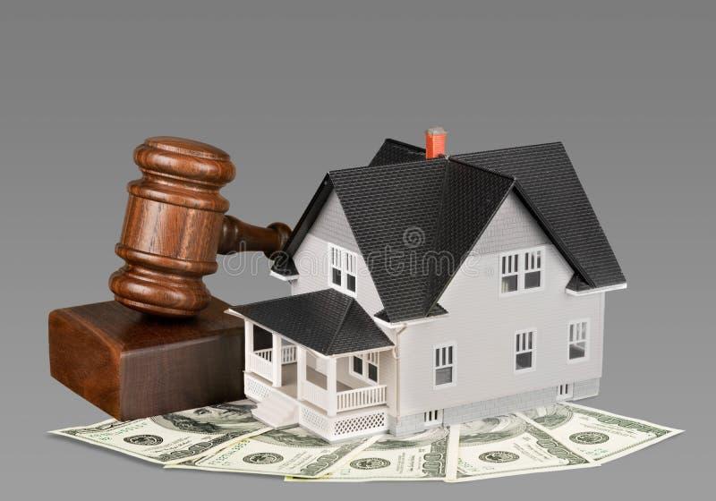 Real Estate auktionerar bort arkivfoton
