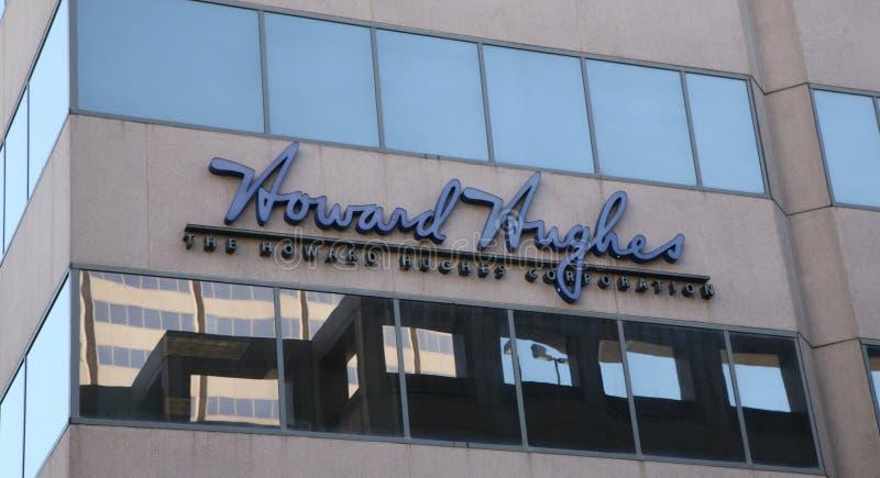 Real Estate bärare Howard Hughes arkivbild