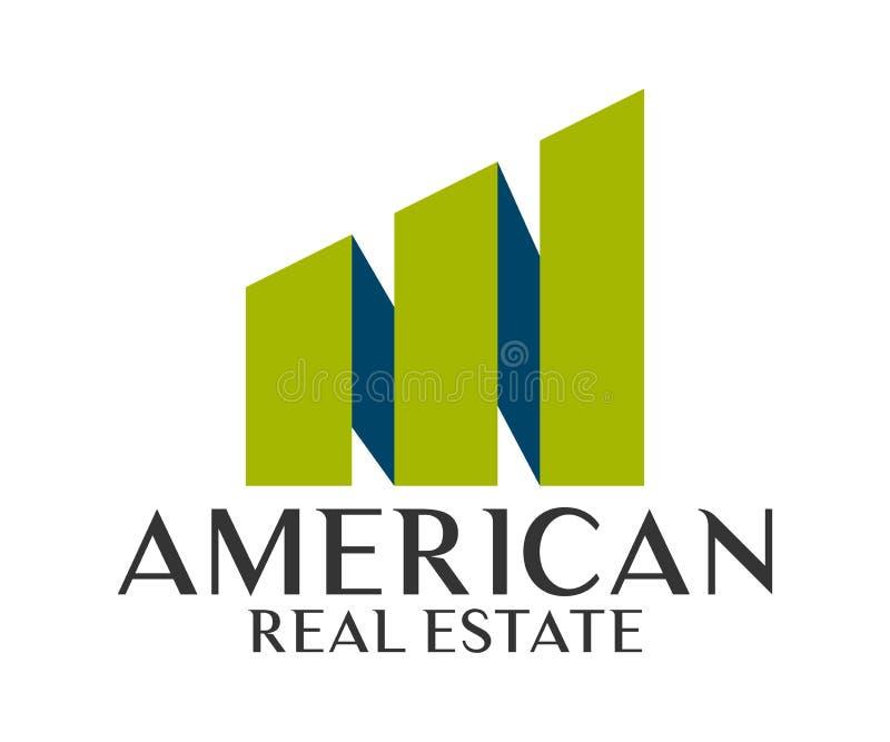 Real Estate, budynku, budowy i architektury loga Wektorowy projekt, ilustracji
