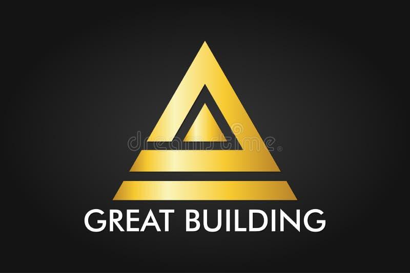 Real Estate, budynku, domu, budowy i architektury loga Wektorowy projekt, ilustracji