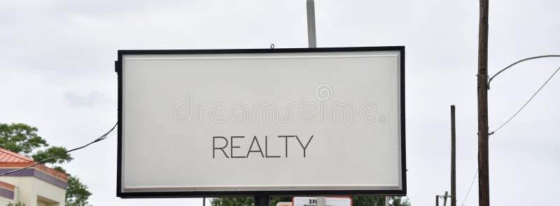 Real Estate byråaffärer arkivbilder