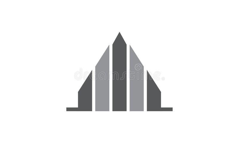 Real Estate casero stock de ilustración