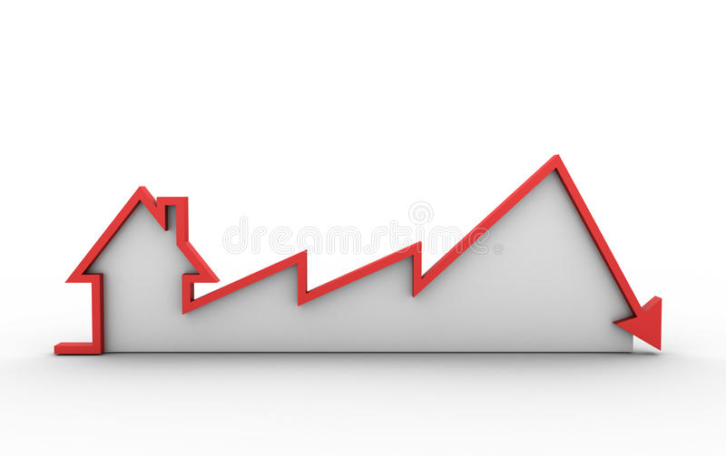 Real Estate Chart vector illustration