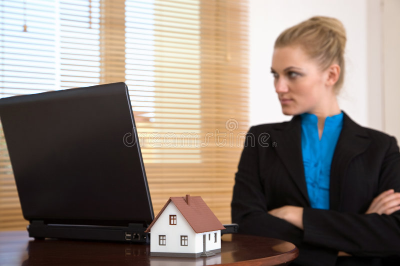 Download Real Estate And Communication Stock Image - Image: 7081181