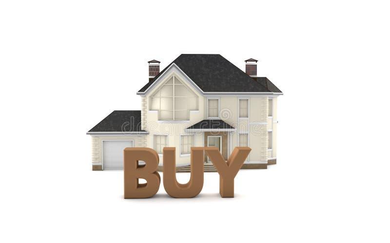 Real Estate compra foto de archivo libre de regalías