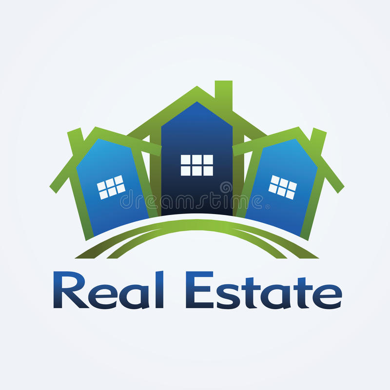 Download Real Estate logo stock vector. Image of concept, card - 22234667