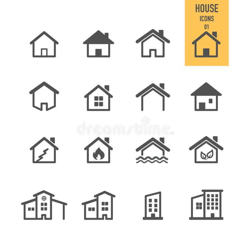 Real estate concept. House icon. vector illustration