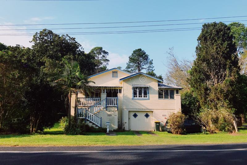 real estate in countryside of Australia stock photos