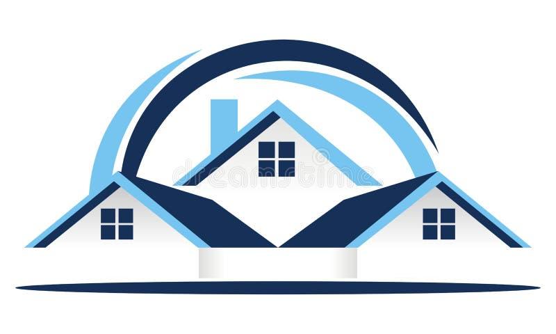 Real Estate couvrent le vecteur illustration libre de droits
