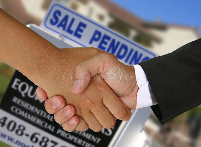 Real Estate Deal stock images