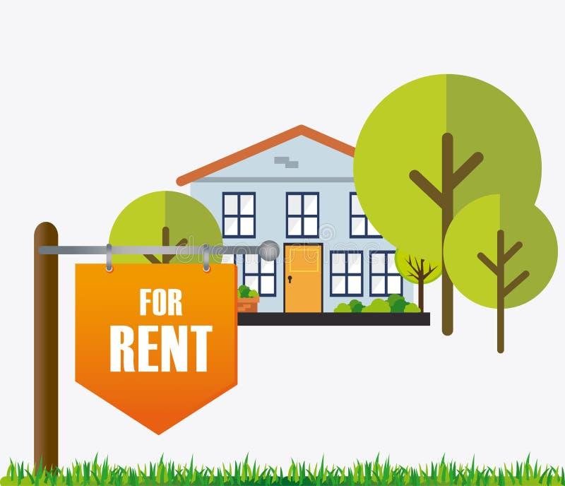Real estate design. vector illustration