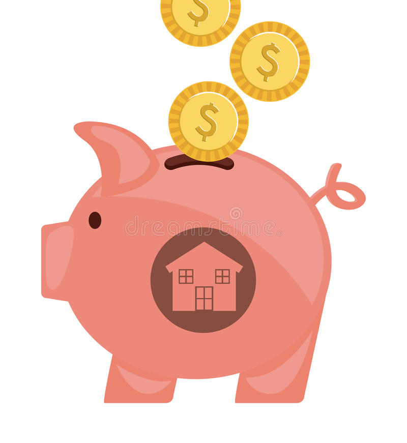Real estate royalty free illustration