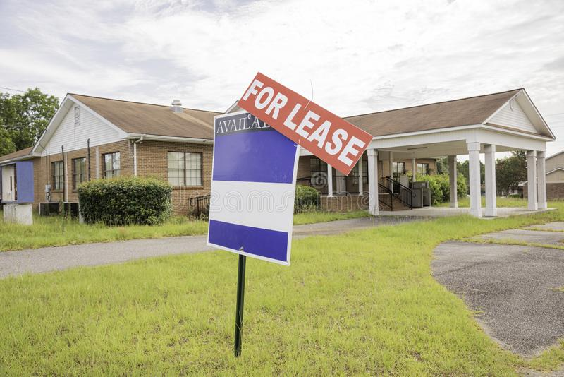 Real Estate egenskap f?r arrende royaltyfria foton