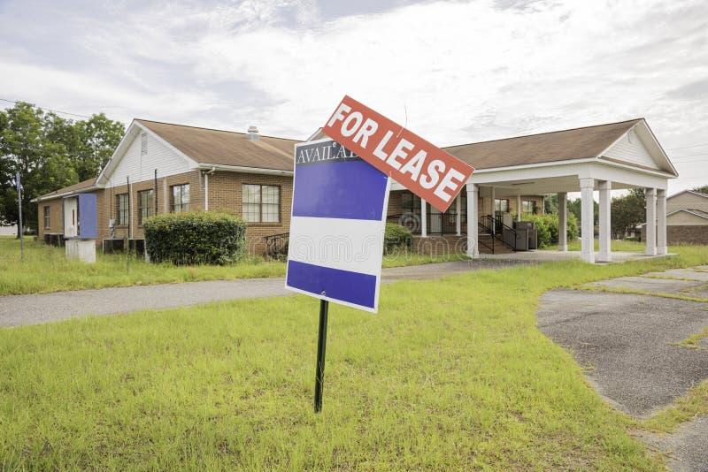 Real Estate egenskap f?r arrende arkivfoton