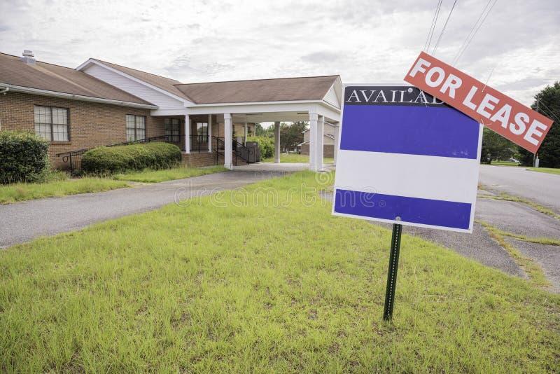 Real Estate egenskap f?r arrende royaltyfri foto